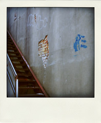 american bombs (windybug) Tags: brick art stairs canon liberty graffiti rust paint ar random conway streetphotography crack arkansas 1855mm statueofliberty exposedbrick cracks bombs canonefs1855mm fakepolaroid canon1855mm faulknercounty poladroid 40d img7670 canon40d