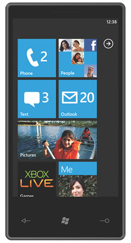 Video Windows Phone 7 Series mobile OS demo