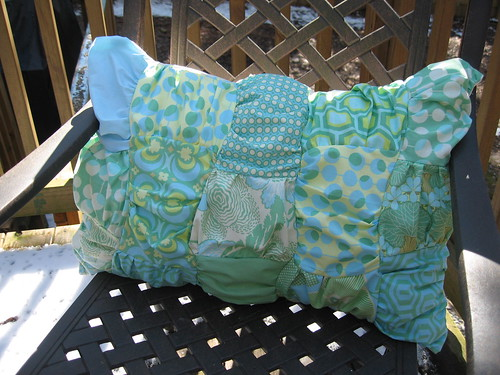 Pillow Talk Swap 2 | Ruffled Pillow