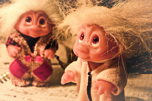 My trolls by Shi3andra, on Flickr