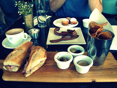 Brunch spread @ LA Mill