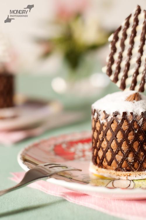 chocolade gebakje