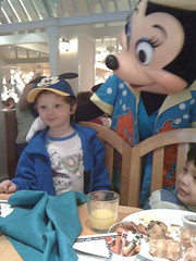 Littleman and Minnie Mouse