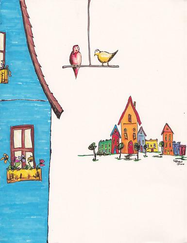 The Birds' Village