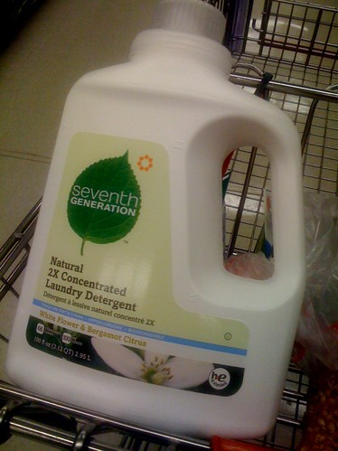 I finally found the laundry detergent that has one of my photos on it!!!!