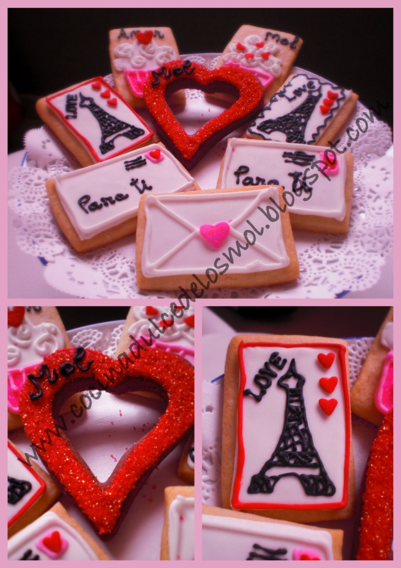 4GALLETAS LOVE, LETTERS AND KISS