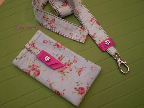 510 :) conj. bolsa telem e fita porta-chaves