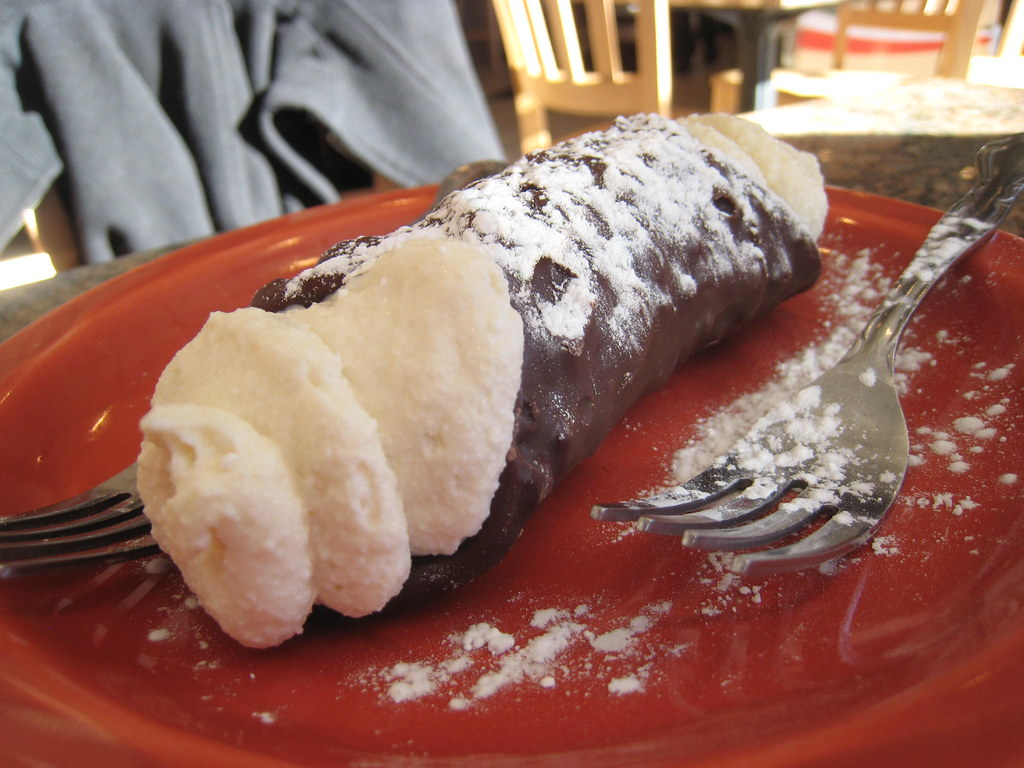 Chocolate Covered Cannoli