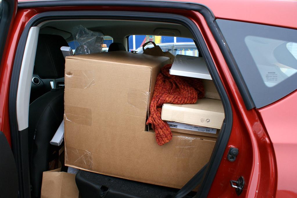 Fully loaded Nissan Qashqai