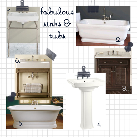 Bathroom Sinks & Tubs