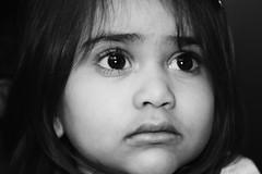 Innocence (deepans = Sandeep) Tags: bw black kids canon innocence ammu amudha 450d canonrebelxsi