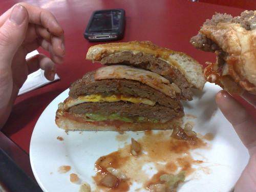 burger, detail