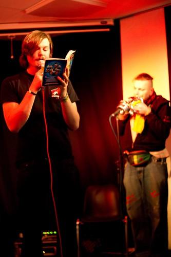 Vorleser und Trompeter