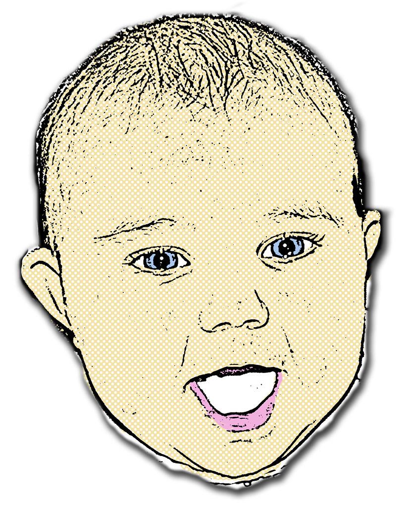 Baby Pop Art