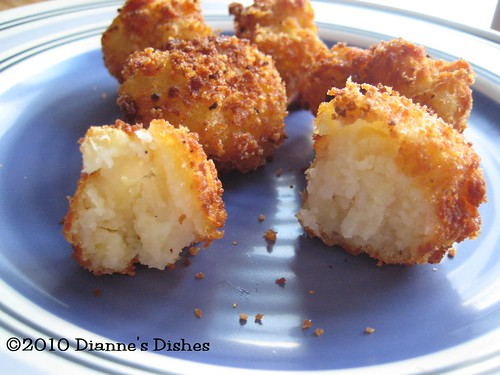 Gluten Free Tater Tots: The Inside