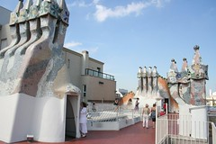 Casa Batlló de Antoni Gaudí Barcelona Espanha