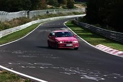 BMW E36 (www.nordschleife-video.de) Tags: auto cars car race germany deutschland racing eifel vehicles bmw vehicle autos 2009 rheinland grne pfalz motorsport hlle nordschleife nrburgring e36 sportwagen hatzenbach touristenfahrten
