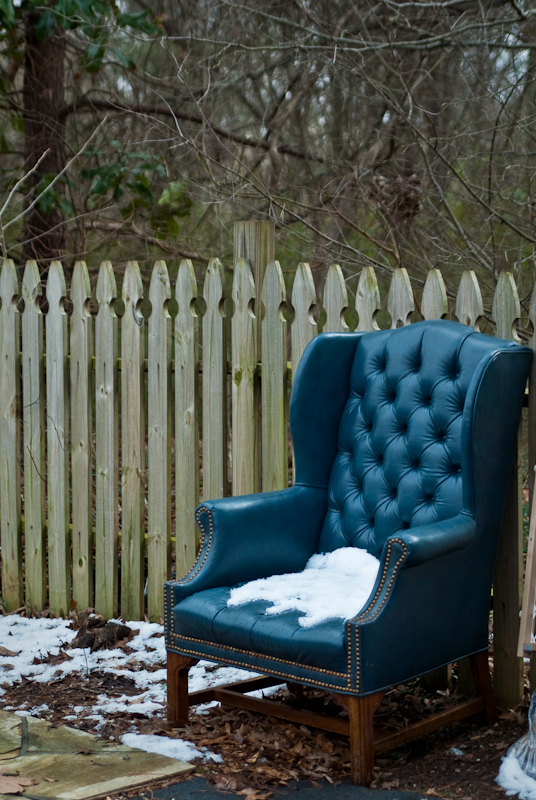 Day 145: Cold Chair