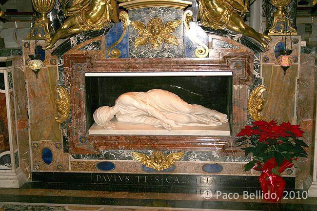 Santa Cecilia in Trastevere. © Paco Bellido, 2010