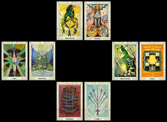Full Moon Spread 1 (submerina) Tags: tarot crowley aleister thoth