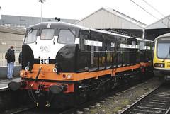 B141 (Longreach - Jonathan McDonnell) Tags: gm locomotive 141 irishrail generalmotors mullingarstation b141