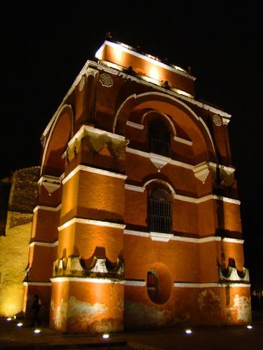Arco del Carmen de Noche