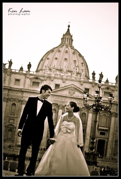 Rome Prewedding Photographer - Overseas Prewedding