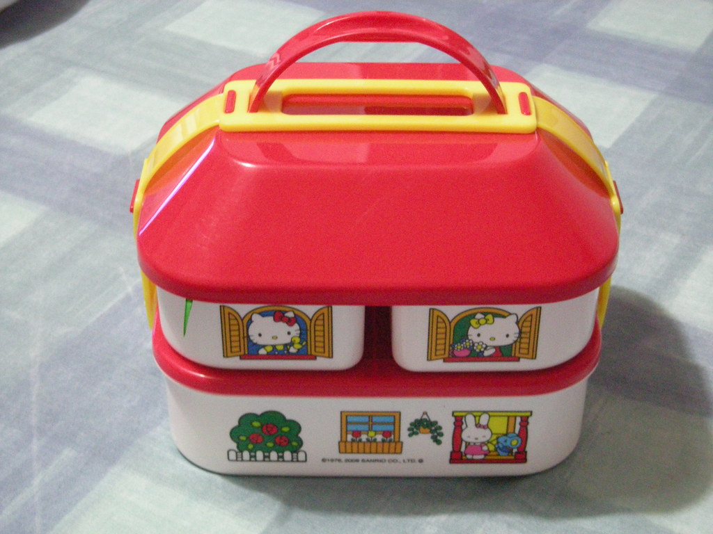 Hello Kitty House Bento