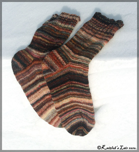 rag rug socks