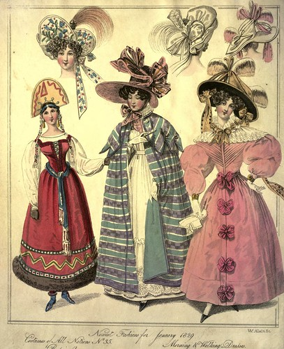 001-The World of fashion and continental feuilletons 1829