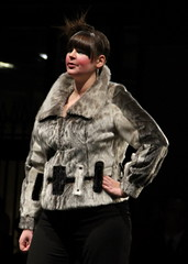 (jay.doubleyou.) Tags: inuit fashionshow sealskin canon7d northernlightstradeshow2010