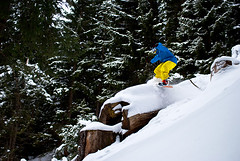 Philip Rf Treeride (Rafflor) Tags: snow tree freestyle ride powder snowboard pow boardslide philip treeride rf