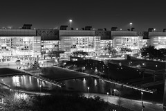 Discovery Green & GRB (DanDan Photos) Tags: bw discoverygreen