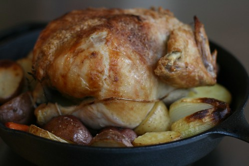 roast chicken & veggies