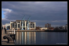 THE-BEAUTY-OF-THE-QUAYS-MSP0002003 (MIKE SCOTT2) Tags: pictures city urban water reflections manchester salfordquays images cranes photographs salford mikescott mikescottphotography