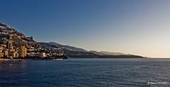 Sunrise over Monaco | Lever de soleil sur Monaco (neoweb001 | www.julientordjman.fr) Tags: blue sea sky cloud mer seascape beach sunrise canon soleil sand sable monaco bleu ciel nuage paysage plage paradis cloudscapes lever 2010 450d julientordjman