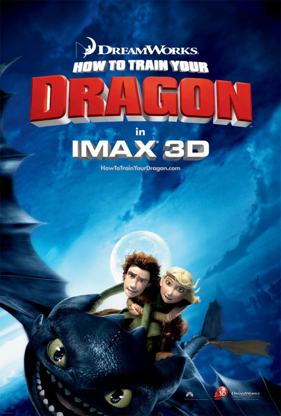 How to Train Your Dragon movie poster 1