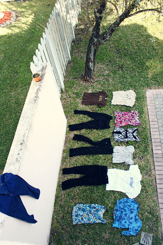 spring break laundry