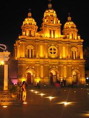 王府井的教堂。beijing church (vickie abby) Tags: beijing 北京 canonixus400 wangfujing 王府井 vickieabby