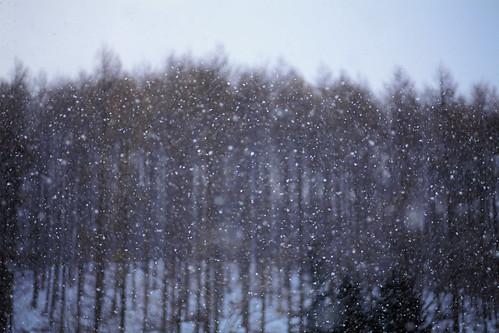 Dry snow