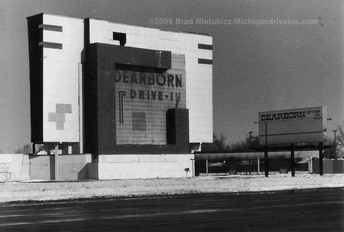 Dearborn Drive-In Theater 1986