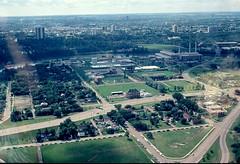 Edmonton, Looking South 1978 (Stella Blu) Tags: stella canada downtown edmonton blu retro alberta scanned 1978 oldslides rossdale