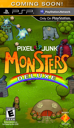 PixelJunk Monsters Deluxe UMD box