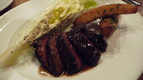 Hanger Steak at The Vanderbilt