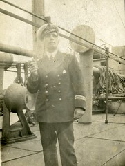 Image titled Alex Gibson, engineer, merchant navy 1916