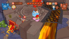 Fat Princess: Fistful of Cake for PSP Screen 2