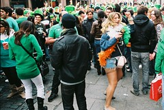 Samba: St Patricks Day 2010 (Anthony Cronin) Tags: ireland dublin green film st analog 35mm samba patrick ishootfilm chicas celtic stpatrick ac apug shamrock stpatricksday sexywomen 2010 konicaautoreflextc streetparty brazilia honeys saintpatricksday paddysday march17 march17th kissmeimirish dubliners dublinstreet dublinstreets allrightsreserved dublinlife streetsofdublin irishphotography patricksdayparade lifeindublin filmisnotdeaditjustsmellsfunny irishstreetphotography hexanonlens streethoneys dublinstreetphotography streetphotographydublin anthonycronin 031710 livingindublin insidedublin livinginireland streetphotographyireland streetsamba 17032010 170310 03172010 brazilianinireland expiredfujicolor200 fujicolor200superia photangoirl