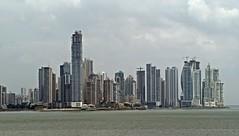 Panama City skyline (ali eminov) Tags: architecture buildings skyscrapers cities cityscapes pacificocean panama oceans panamacity centralamerica adobephotoshopelements panamacityskyline citiesinpanama