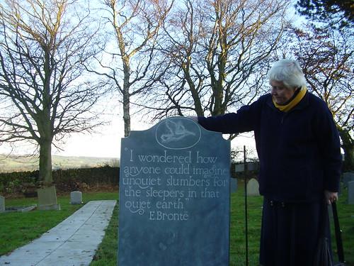 Curlew gravestone.