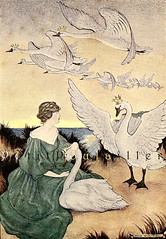 "1916 Milo Winter ""The Wild Swans"" for 'Andersen's Fairy Tales', Windemere Edition"